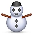 Old snowman